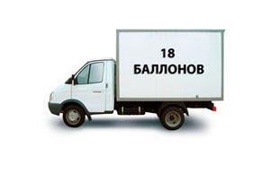 Доставка аммиака марки А в баллонах по России
